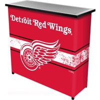NHL Portable Bar with Carrying Case, Detroit Redwings