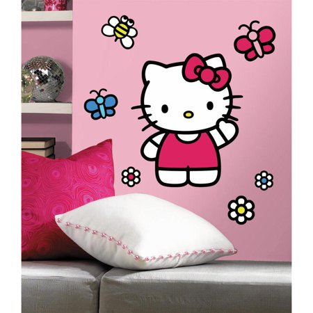 Hello Kitty World Of Hello Kitty Giant Wall Decals Removable Peel