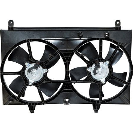 New Dual Radiator and Condenser Fan Assembly 1670030 - 21481CL80A For -