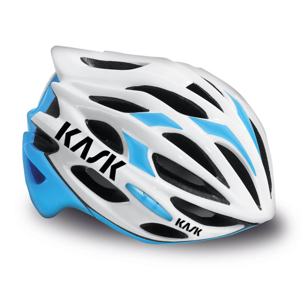 Kask Mojito Cycling Helmet Blue / White Large 59-62cm Road Bicycle Bike Safety