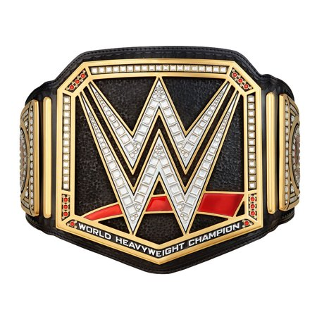 Official WWE Authentic  Championship Replica Title Belt (Wwe Replica Championship Belts)