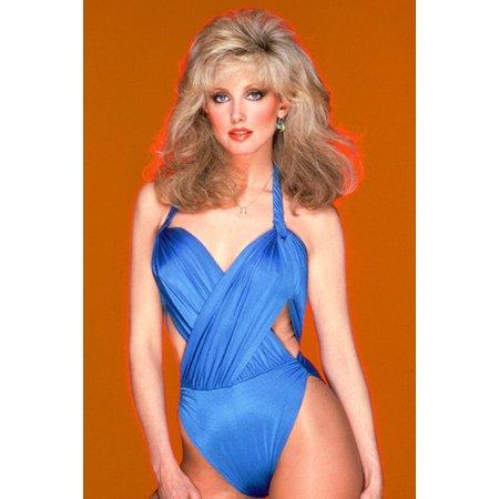 Y Blue Swimsuit Color 24x36 Poster