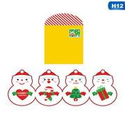 AkoaDa Christmas Handmade Diy Children's Greeting Card Creative Three-Dimensional Paste Small Card