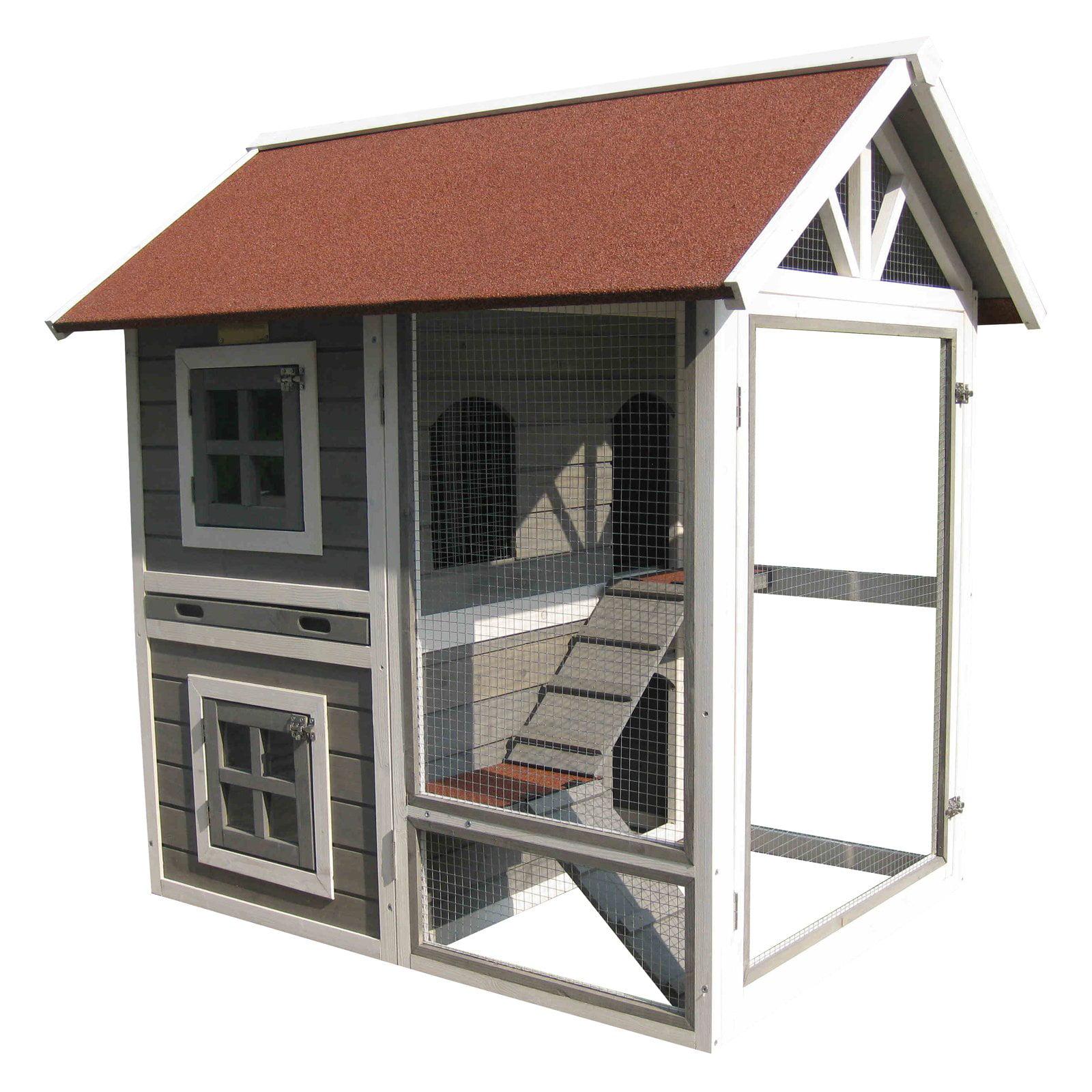 Advantek Row House Rabbit Hutch by