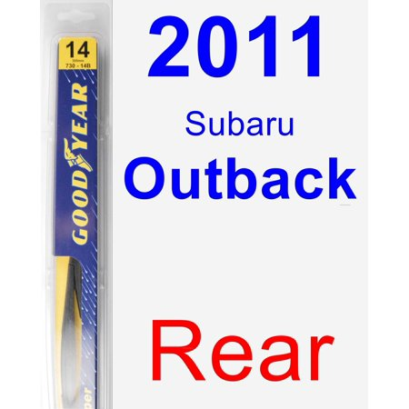2011 Subaru Outback Rear Wiper Blade -