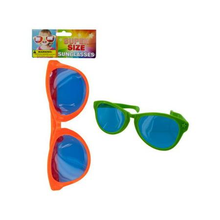 Bulk Buys SK208-48 Super Size Sunglasses