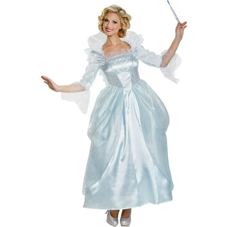 Flower Fairy Halloween Costume (Fairy Godmother Adult Women's Adult Halloween)