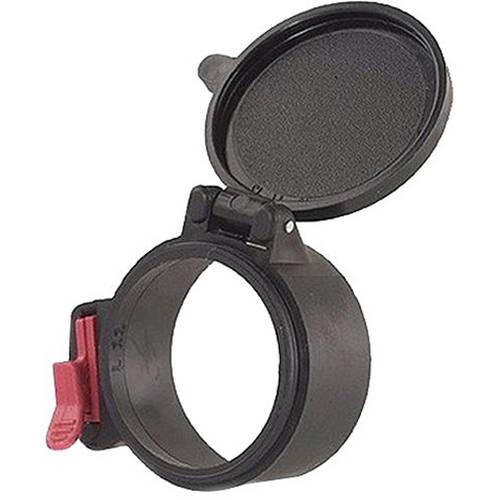 Butler Creek 33940 Multi-Flex Flip-Open Objective Lens Cover, Size 39-40, Black
