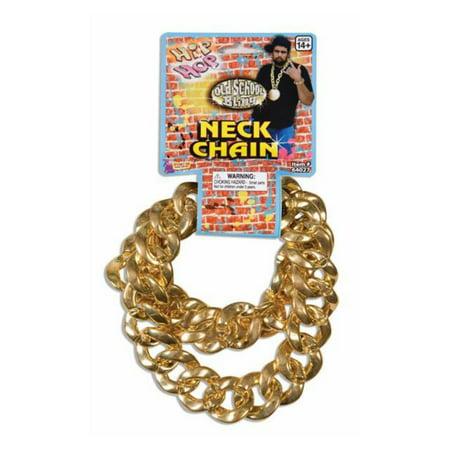 Gold Big Link Neck Chain](Halloween Prank Links)