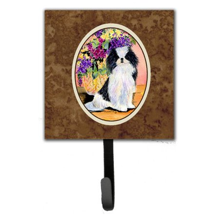 Caroline's Treasures Japanese Chin Leash Holder and Wall Hook
