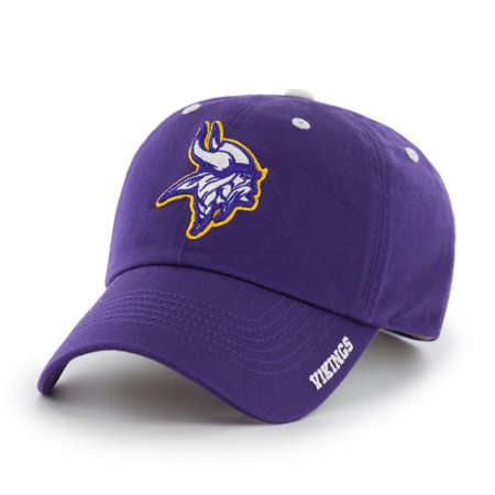 NFL Minnesota Vikings Ice Adjustable Cap/Hat by Fan Favorite - Vikings Hat With Horns