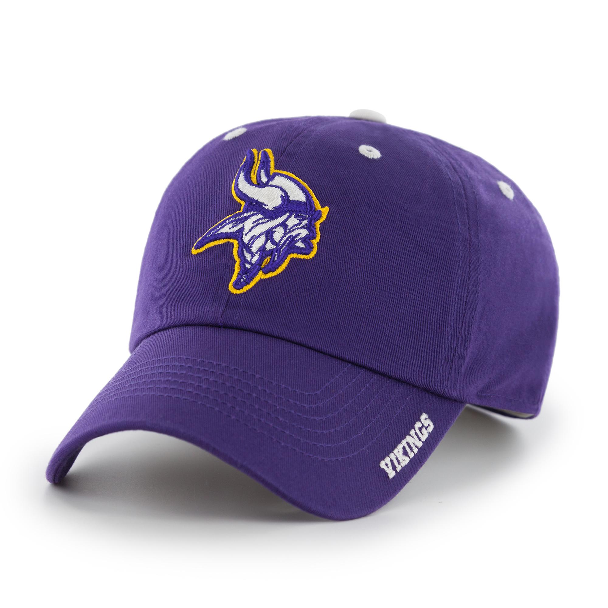 NFL Minnesota Vikings Ice Adjustable Cap/Hat by Fan Favorite