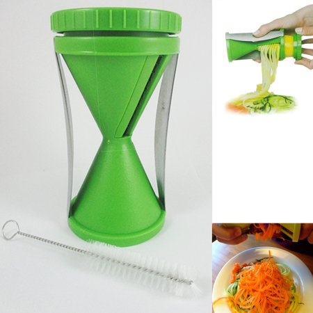Handheld Vegetables Fruit Slicer Spiral Manual Twister Cutter Maker Tool