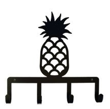 Village Wrought Iron KH-44 Pineapple Key Holder