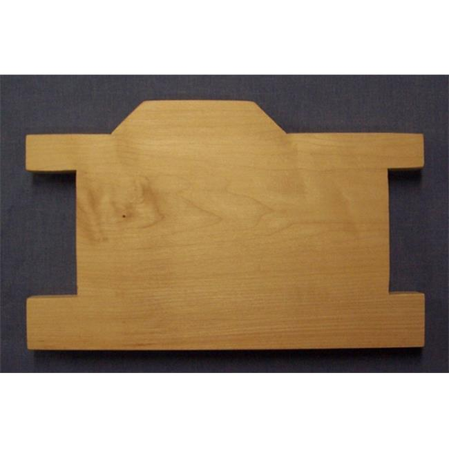 THE PUZZLE-MAN TOYS W-2705 Wooden Household Items - Cutting Board - Caboose - Hard Maple - Surface Grain const.