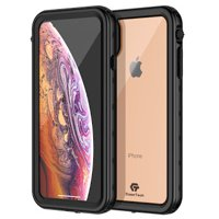 iPhone Xs Max Waterproof Case, CaseTech TRE Series, Waterproof IP68 Certified Shockproof with Clear Back Slim Cover, 2018 6.5 inch …