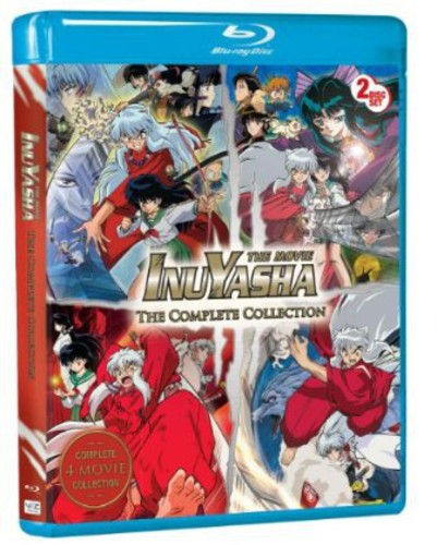 Inuyasha: The Movie the Complete Collection (Blu-ray)