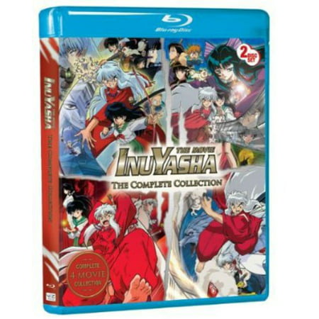 Inuyasha: The Movie the Complete Collection (Blu-ray) (Inuyasha Box Set Blu Ray)