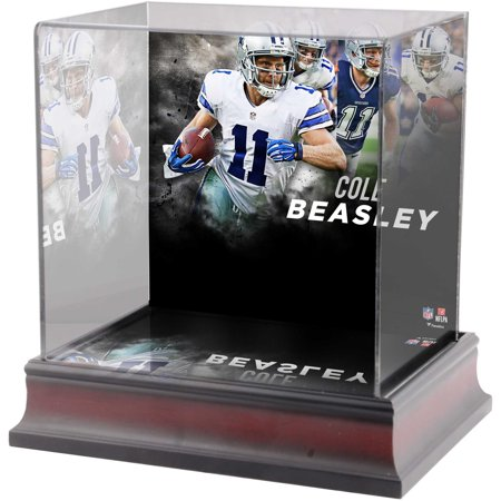 Cole Beasley Dallas Cowboys Deluxe Mini Helmet Case