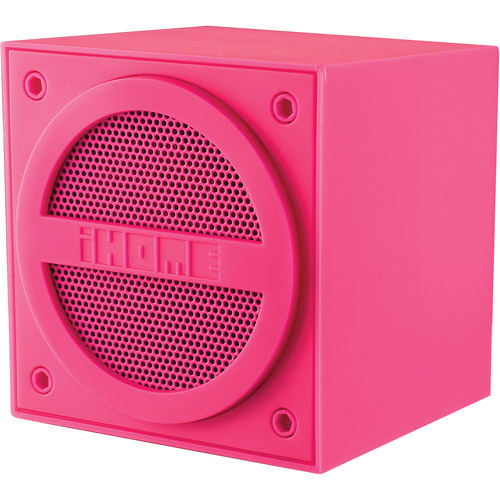 iHome Bluetooth Mini Cube,  (Assorted Colors)