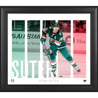 "Ryan Suter Minnesota Wild Framed 15"" x 17"" Player Panel Collage"