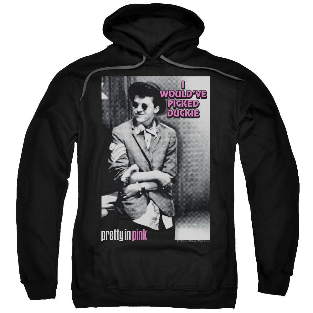 Pretty In Pink I Wouldve Mens Pullover Hoodie