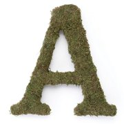 "Large (15"") Moss Monogram, A"