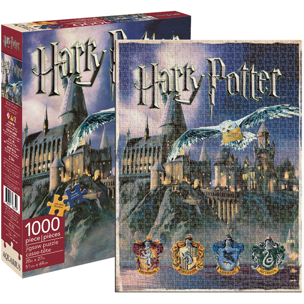 Harry Potter Hogwarts Jigsaw Puzzle, 1000pc by Aquarius