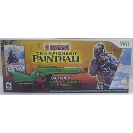 Paintball Marker Gun Case (NPPL Championship Paintball with gun WII )