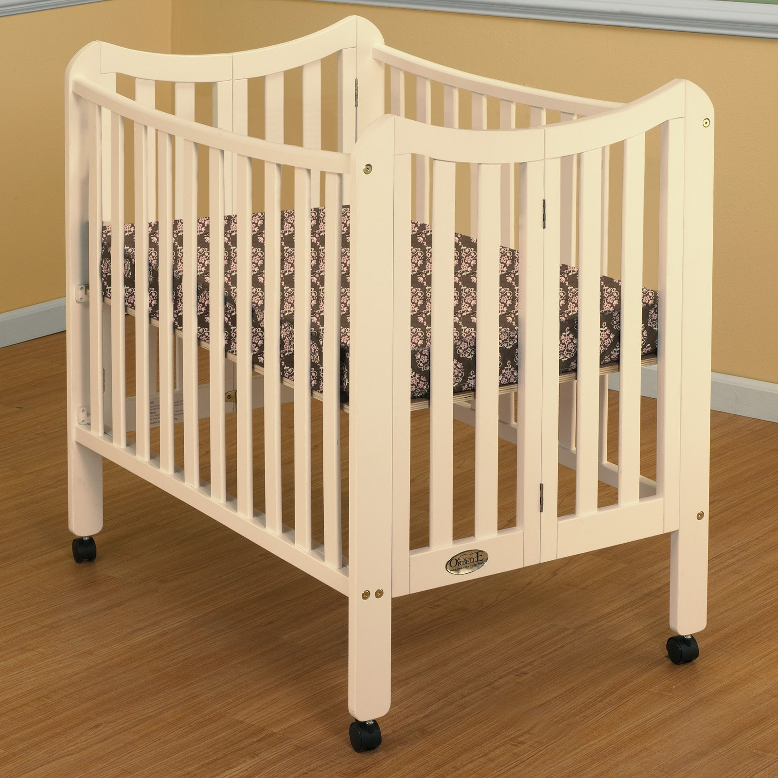 Orbelle Tian Two Level Mini Portable Crib by Orbelle