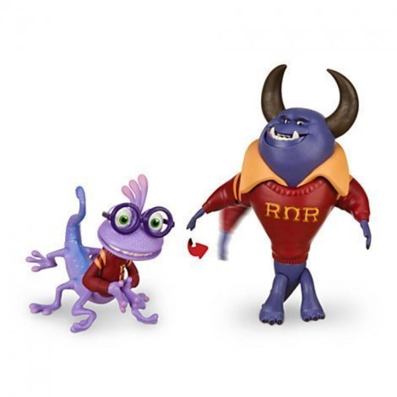 Disney Exclusive Monsters University Action Figure Set - Johnny & Randy