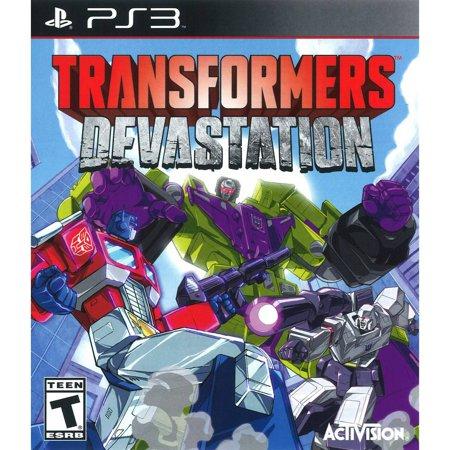 Transformers Devastation, Activision, PlayStation 3,