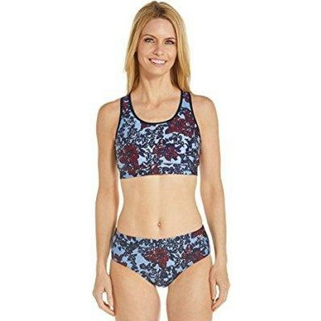 919b783466 Coolibar - Coolibar UPF 50+ Women s Medley Swim Bra - Sun Protective ...