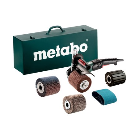 Metabo 4-Inch Variable Speed Burnisher Kit- 800-3,000 Rpm -14.5 Amp With Lock-On, Accessory - Ultra High Speed Burnishers