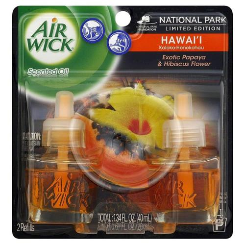Air Wick National Park Limited Edition Series Scented Oils, Hawai'i 2 ea (Pack of 2)