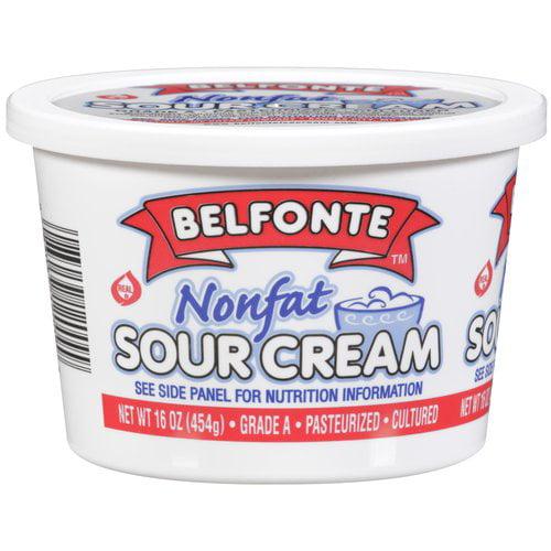 Belfonte Nonfat Sour Cream, 16 oz