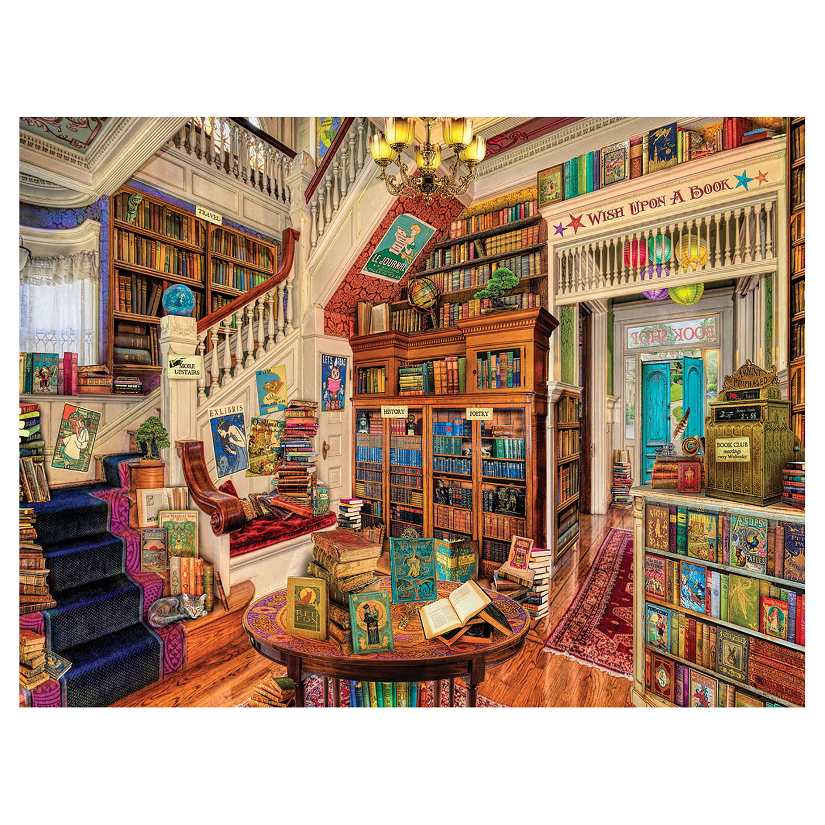 White Mountain Puzzles Readers Paradise 1000 Piece Jigsaw Puzzle by White Mountain Puzzles