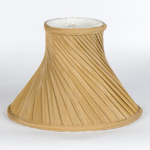 The Bradburn Gallery 12'' Shantung Silk Bell Lamp Shade