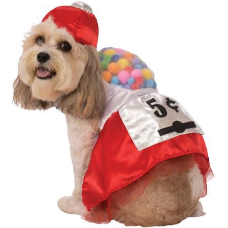 5 Cent Gumball Dress Pet Dog Cat Funny Halloween Costume