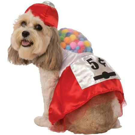 5 Cent Gumball Dress Pet Dog Cat Funny Halloween Costume (Dog Football Costumes Halloween)