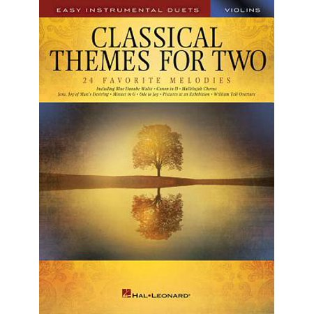 Classical Themes for Two Violins : Easy Instrumental - Classical Favorites Violin