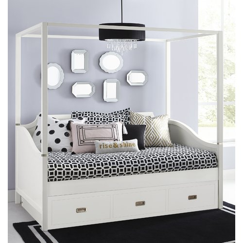Harriet Bee Angus Canopy Daybed with Trundle
