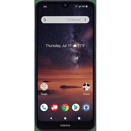 Verizon Wireless Nokia 3V 16GB Prepaid Smartphone, Blue