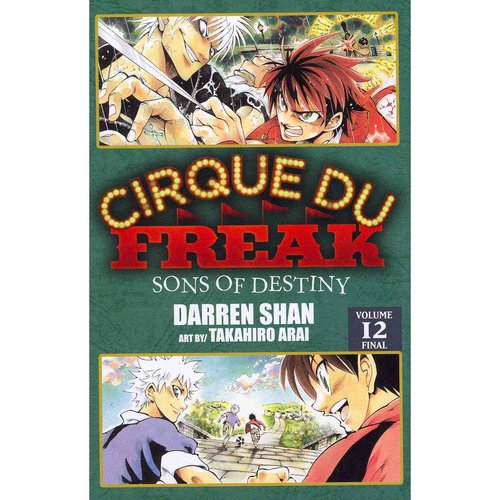 Cirque Du Freak 12: Sons of Destiny