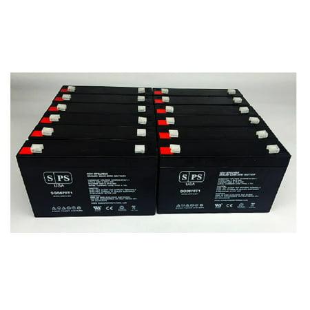 SPS Brand 6V 7 Ah Replacement Battery for Makita 9.6v BMR100, 9120, 6222D, 6260D, 6226D (12