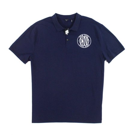 Navy Mens Small Polo Rugby Short Sleeve Shirt S