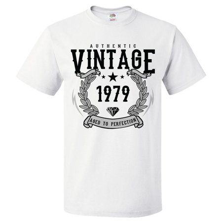 40th Birthday Gift For 40 Year Old 1979 Aged To Perfection T Shirt