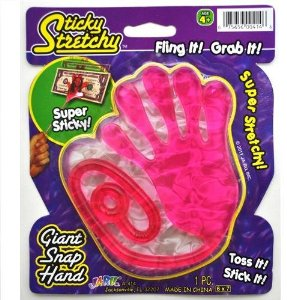 Giant Snap Hand (Colors may vary) Multi-Colored