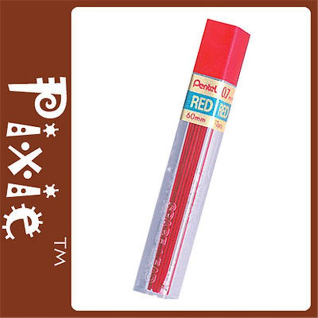 Pentel PPR-7-BX Hi-Polymer Colored Lead Red . 7mm