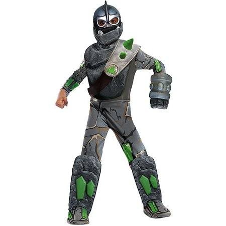 Deluxe Skylanders Giants Crusher Child Halloween Costume - Skylander Costumes For Girls